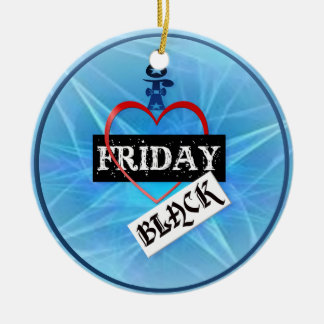 I Love Black Friday  Ornament