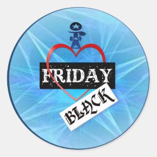 I Love Black Friday Stickers