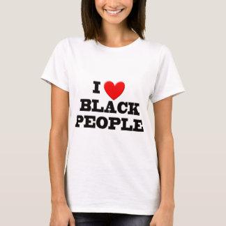 I Love Black People T-Shirts & Shirt Designs   Zazzle