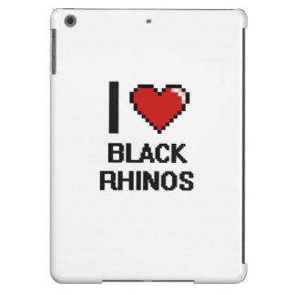 I love Black Rhinos Digital Design Case For iPad Air