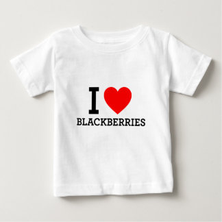 I Love Blackberries Baby T-Shirt
