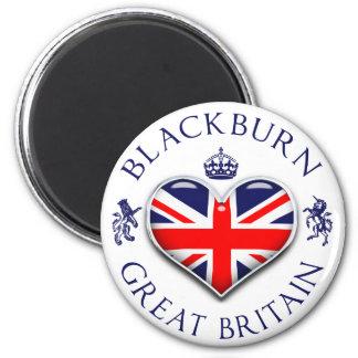 I Love Blackburn 2 Inch Round Magnet
