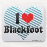I Love Blackfoot Mousepad