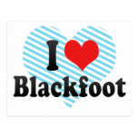 I Love Blackfoot Postcard