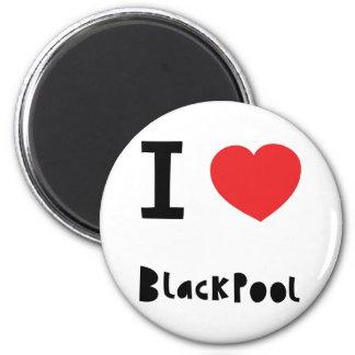 I love Blackpool Magnet