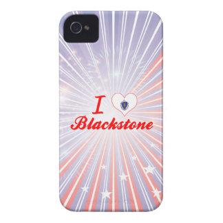 I Love Blackstone, Massachusetts iPhone 4 Cases