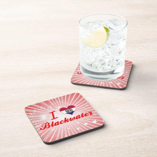 I Love Blackwater, Missouri Drink Coaster