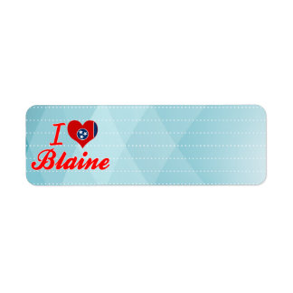 I Love Blaine, Tennessee Labels