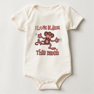 I love Blaise Baby Bodysuit