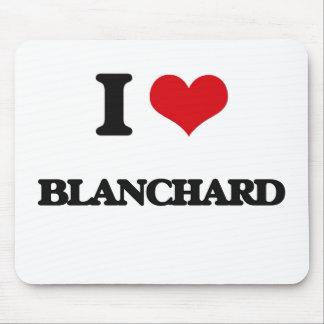 I Love Blanchard Mouse Pad