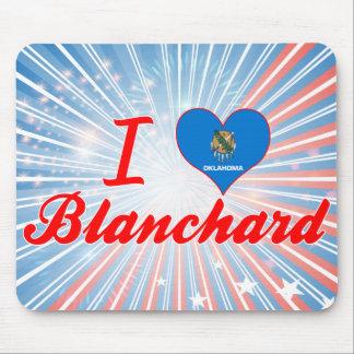 I Love Blanchard, Oklahoma Mouse Pad