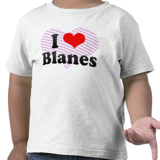 I Love Blanes, Spain T Shirts