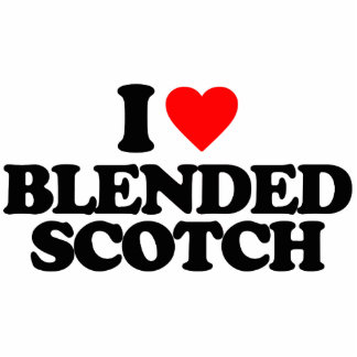I LOVE BLENDED SCOTCH PHOTO CUTOUTS