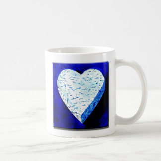 I Love Bleu Cheese Classic White Coffee Mug