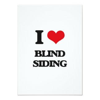 I Love Blind Siding Card