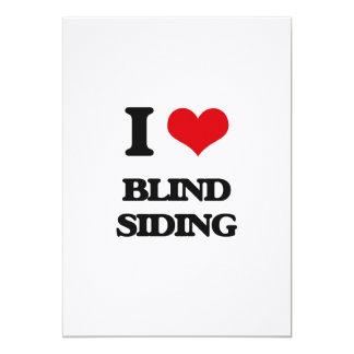 I Love Blind Siding Cards