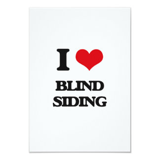 I Love Blind Siding Personalized Announcement