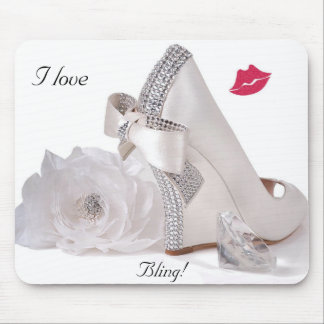 I Love Bling! - Mousepad