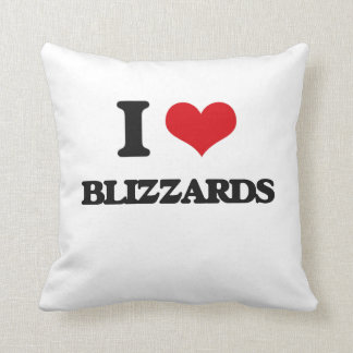 I love Blizzards Pillow