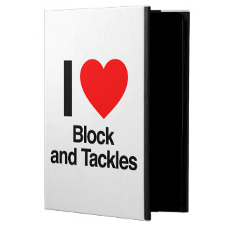 i love block and tackles case for iPad air