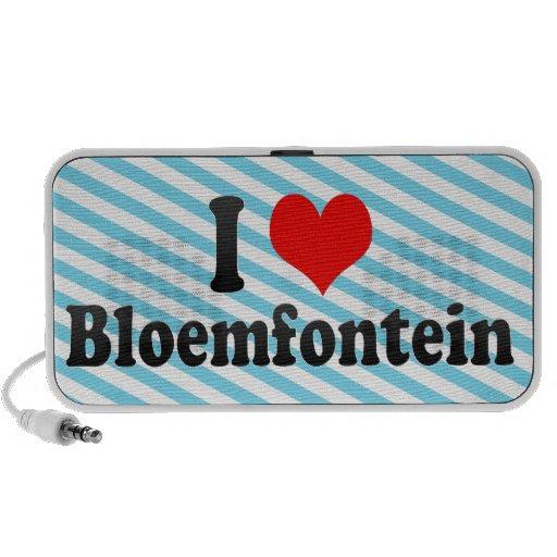 I Love Bloemfontein, South Africa Mini Speaker