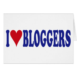 I Love Bloggers Cards