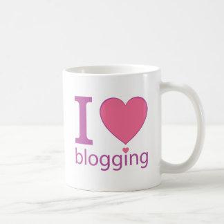 I Love Blogging Coffee Mug