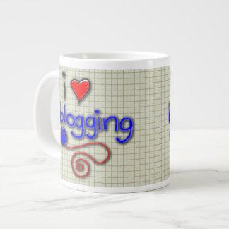 I Love Blogging Giant Coffee Mug