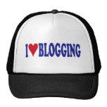 I Love Blogging Hats