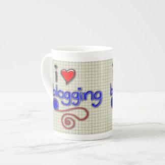 I Love Blogging Tea Cup