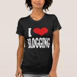 I Love Blogging Tee Shirts