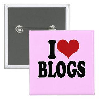 I Love blogs Pin