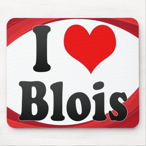 I Love Blois, France. J'Ai L'Amour Blois, France Mouse Pad