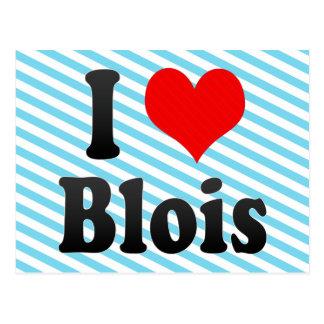 I Love Blois, France. J'Ai L'Amour Blois, France Postcard