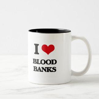 I Love Blood Banks Coffee Mug