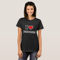I Love Blood Tests T-Shirt