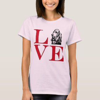 I Love Bloodhounds - Light Colored Tee