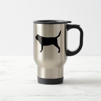 I Love Bloodhounds 15 Oz Stainless Steel Travel Mug