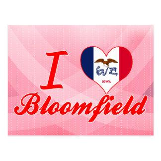 I Love Bloomfield, Iowa Postcard