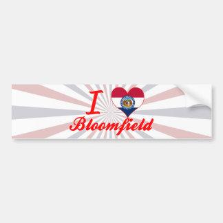I Love Bloomfield, Missouri Bumper Stickers