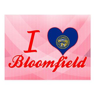 I Love Bloomfield, Nebraska Postcard