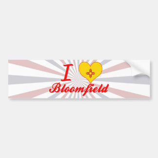 I Love Bloomfield, New Mexico Bumper Stickers