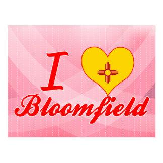 I Love Bloomfield, New Mexico Postcard
