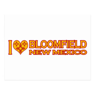 I Love Bloomfield, NM Postcard