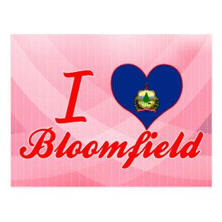 I Love Bloomfield, Vermont Postcard
