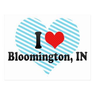 I Love Bloomington, IN Postcard