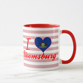 I Love Bloomsburg, Pennsylvania Mug