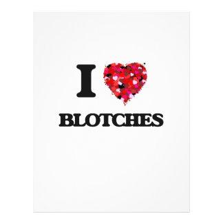 """I Love Blotches 8.5"""" X 11"""" Flyer"""