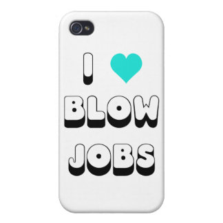 I Love Blow Jobs iPhone 4 Covers