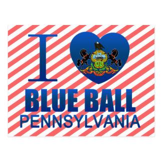 I Love Blue Ball, PA Postcard